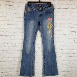 D&G by Dolce & Gabbana Embroidered Flare Jeans 26